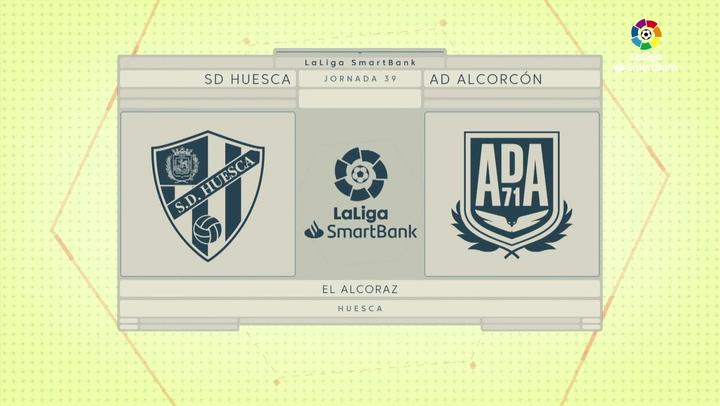 LaLiga SmartBank (J39): Resumen y goles del Huesca 2-1 Alcorcón