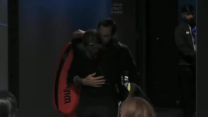 El amor de Federer y Mirka tras cuatro horas de pasión