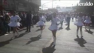 Inst. San Juan Bosco a su paso por las calles capitalinas