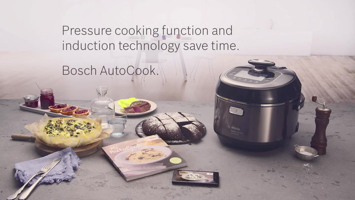 Preview image of Bosch Autocook Multicooker video