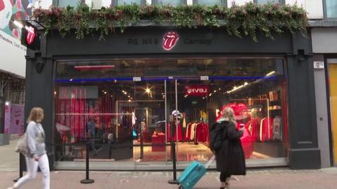 Los Rolling Stones abren su primera tienda física en Londres