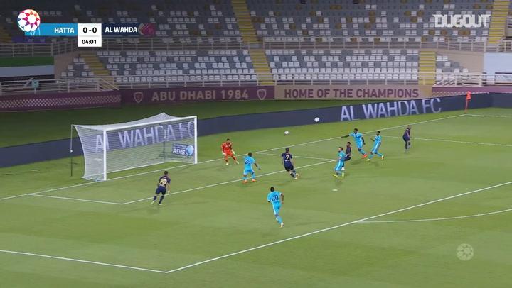 Highlights: Al-Wahda 6-0 Hatta
