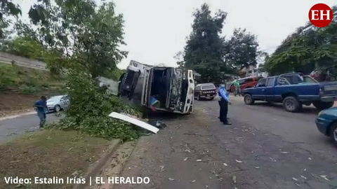 Se registra un accidente vehicular en el Fuerzas Armadas de la capital