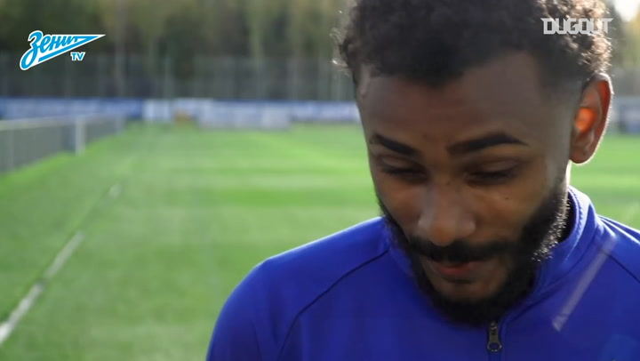 Wendel's first interview as a Zenit player