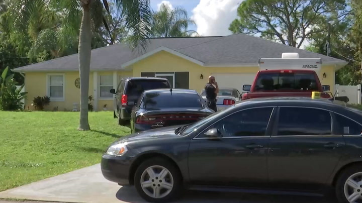 Watch live as police and FBI search family home of Brian Laundrie