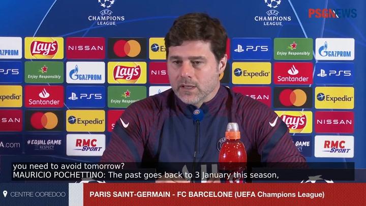 Pochettino es prudente y ambicioso a la vez ante la visita del Barça