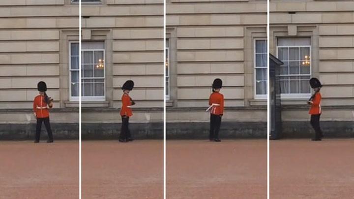 Dronningens vakt overrasket alle