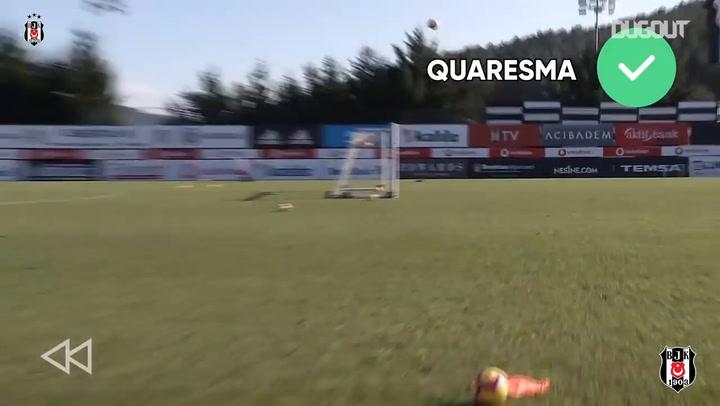 Behind The Goal Challenge With Besiktas