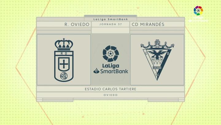 LaLiga Smartbank (Jornada 37): Oviedo 1-0 Mirandés
