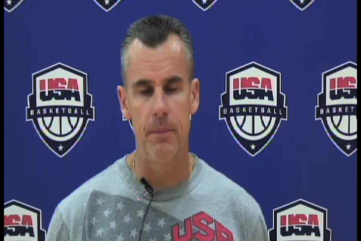 USA Head Coach Billy Donovan On What He Expects In The 2013 FIBA U19 World Championship