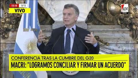 Macri dijo que no quiere hacer más pronósticos sobre la economía