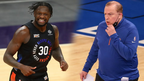 Julius Randle or Tom Thibodeau: Who was more important to Knicks making playoffs?