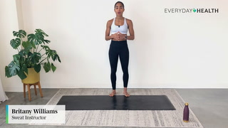 Britany Williams X Everyday Health: 5-Minute Express Full Body Barre Class