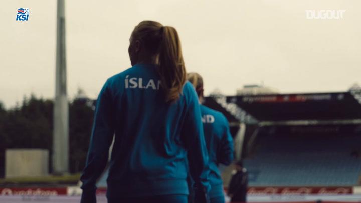 Iceland Ladies V Germany Highlights