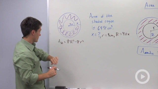 Area of an Annulus - Problem 3