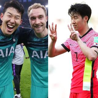 Heung-Min Son marca en las eliminatorias asiáticas y su festejo dedicado a Eriksen se vuelve viral