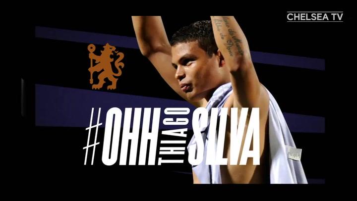 El Chelsea anuncia a Thiago Silva