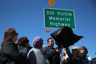 State Route 157 Dedicated to DUI Victims – VIDEO