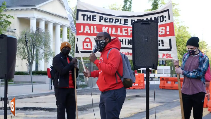 """Jail Killer Cops"" Rally-Goer Slams D.C. Mayor Muriel Bowser for Supporting Police"