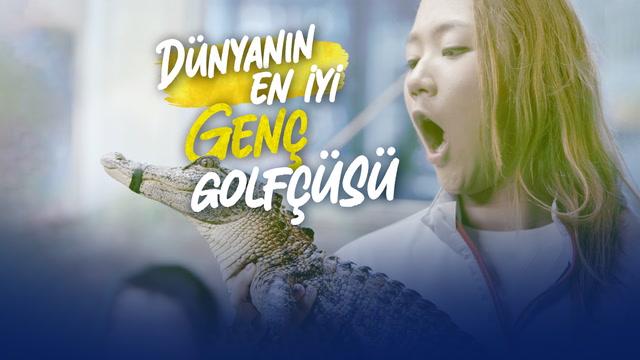 Dünyanın en iyi genç golfçüsü