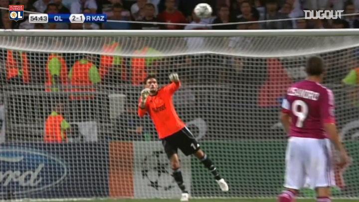 Hugo Lloris' best Olympique Lyonnais saves