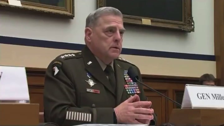 US military chief defends study of critical race theory