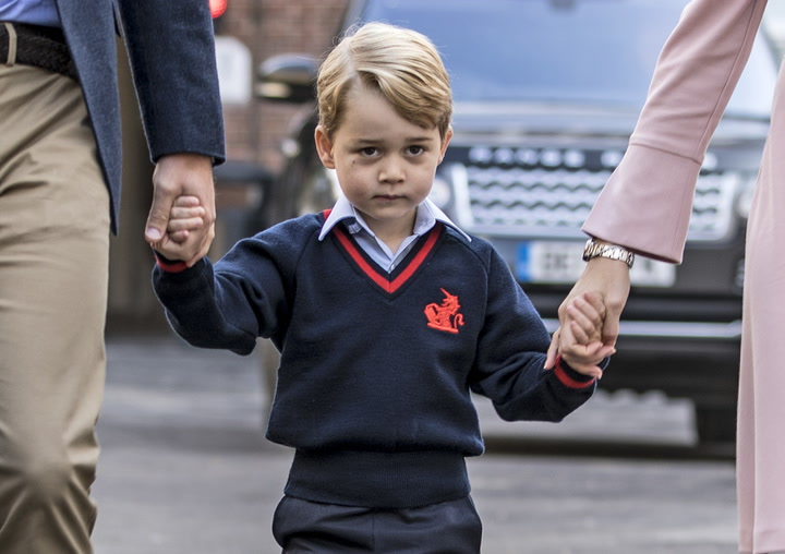 All You Need to Know about Prince George\'s First Day