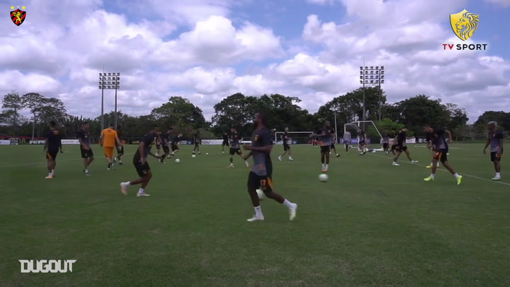 Sport Recife train ahead of Bahia clash
