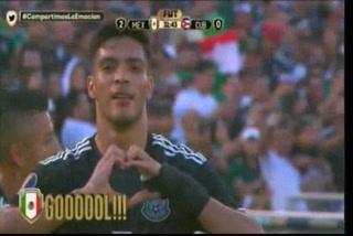 ¡GOL DE MÉXICO! Raúl Jimenez hace el 2-0 ante Cuba en la Copa Oro