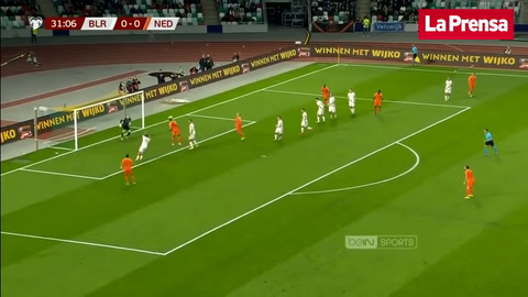 Video: Bielorrusia 1-2 Holanda (Eliminatoria rumbo a la Euro)