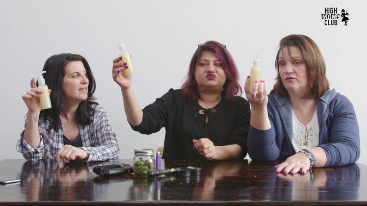 High Moms Make Weed-Infused Lube
