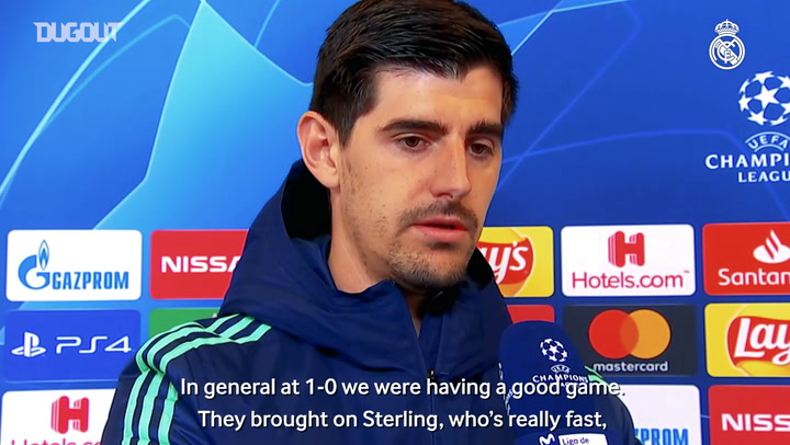Courtois: We were controlling things and we lost the game inside a five-minute spell