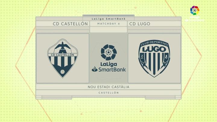 Resumen 90' CD Castellón - CD Lugo J6