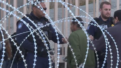 Barricadas en frontera EEUU-México despiertan el temor