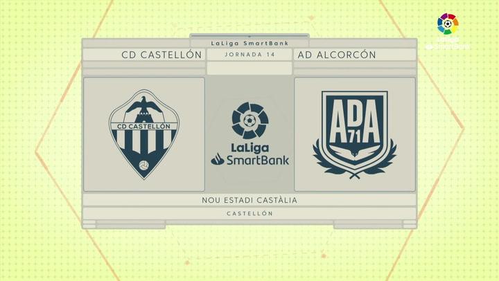 LaLiga SmartBank (J14): Resumen y goles del Castellón 0-2 Alcorcón
