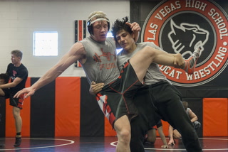 Las Vegas High wrestlers prepare for tough Mountain Region tournament.