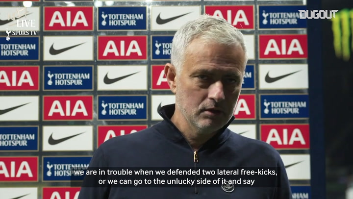 Jose: 'It's hard to believe we only have eight points'
