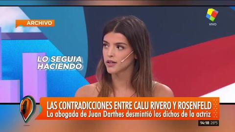 Las contradicciones entre Calu Rivero y Ana Rosenfeld