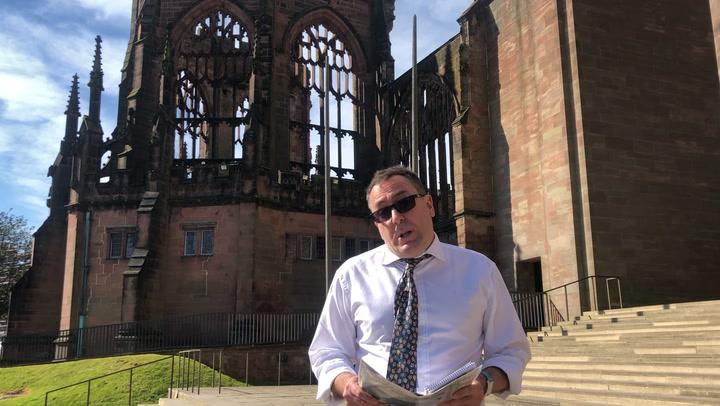 Crónica De La Covid-19 En Inglaterra Desde La Catedral De Coventry