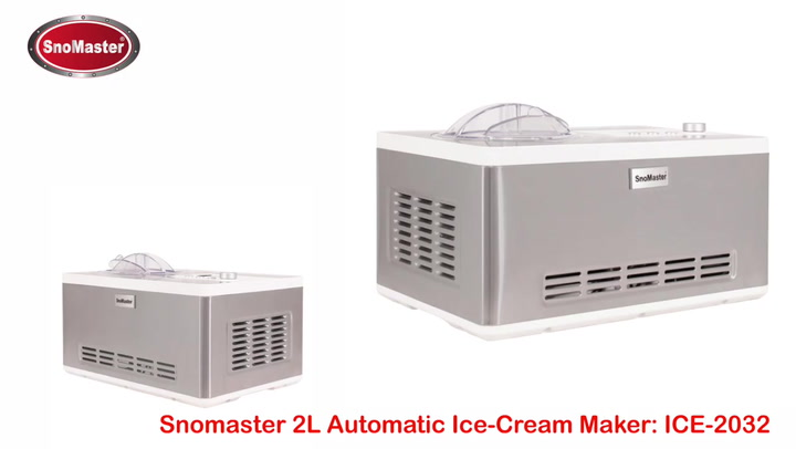 Preview image of SnoMaster Automatic Ice Cream Maker, 2L video