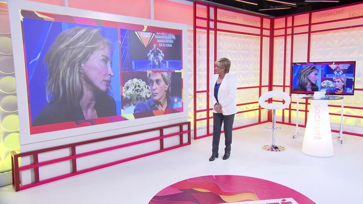 Chelo García Cortés como presentadora de 'Socialité' anuncia que  Isabel Pantoja sufre un ataque de ansiedad