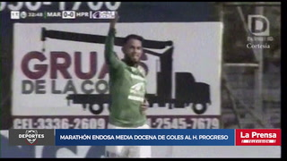 Marathón 6-0 Honduras Progreso (Torneo Clausura 2019)