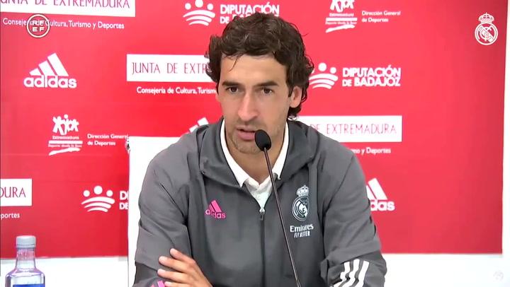 La emoción de Raúl y su emotivo mensaje a sus jugadores tras caer eliminado en el playoff de ascenso