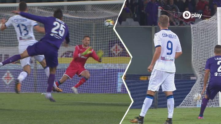 Highlights: Cornelius-assist sikrer Atalanta udligning i sidste minut