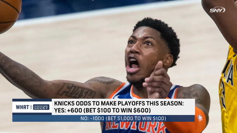 What are the odds the Knicks make the playoffs?