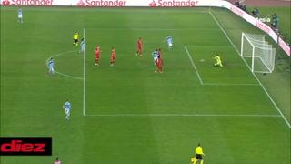 Lazio anota el descuento en la paliza que está recibiendo ante el Bayern Munich