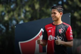 Cristian Cálix anota su primer gol con el Atlas Sub-20 en triunfo ante León