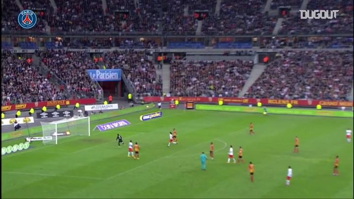 Maxwell's best three goals with Paris Saint-Germain