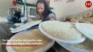 Honduras: De las entrañas del pueblo sale el paste que llega a las ciudades