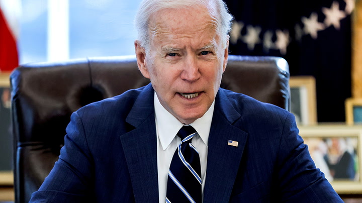 Watch live as Joe Biden delivers remarks on Covid-19 response and vaccination program